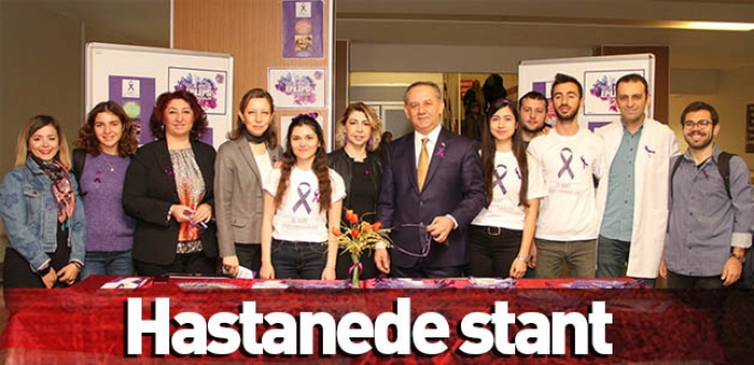 Hastanede stant